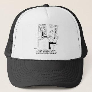 Bande dessinée 7058 d'ordinateur casquette