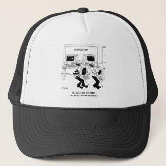 Bande dessinée 7063 d'ordinateur casquette