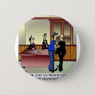 Bande dessinée 8936 de salle de bains badge rond 5 cm