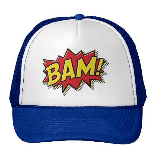 bande dessinée bam ! casquette