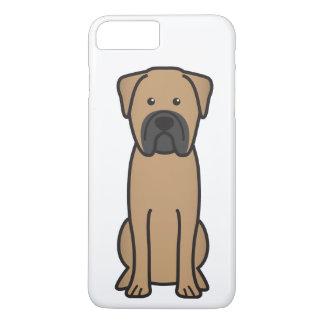 Bande dessinée de chien de Bullmastiff Coque iPhone 7 Plus