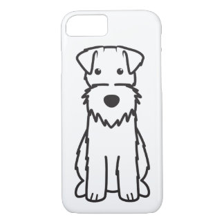 Bande dessinée de chien de Fox Terrier de fil Coque iPhone 7