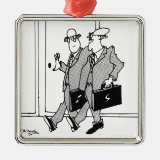 Bande dessinée de fortune 5492 ornement carré argenté
