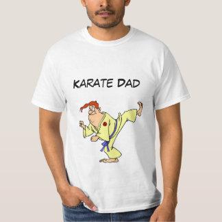 Bande dessinée de karaté de T-shirt de valeur