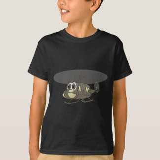 Bande dessinée d'hélicoptère de Huey T-shirt