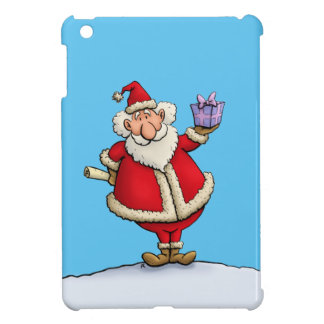 bande dessinée drôle de Noël de la livraison de Coque iPad Mini