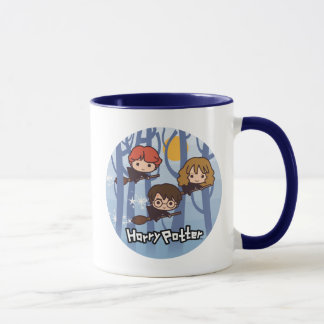 Bande dessinée Harry, Ron, et vol de Hermione en Mug