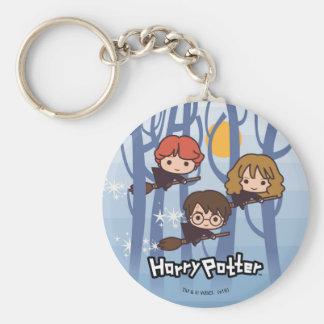 Bande dessinée Harry, Ron, et vol de Hermione en Porte-clé Rond