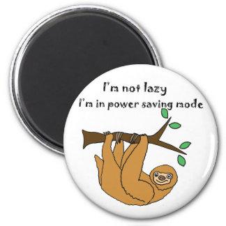 Bande dessinée paresseuse drôle de paresse aimant