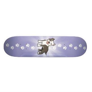 Bande dessinée Pitbull/Staffordshire Terrier Skateboard Customisable
