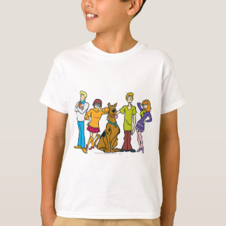 Bande entière 14 Mystery Inc Tee-shirts
