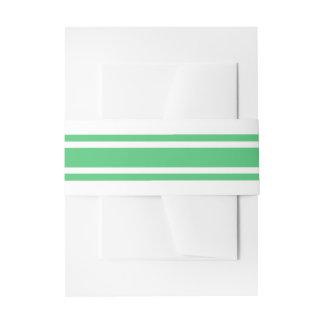 Bandeau De Faire-part Mariage moderne de vert vert