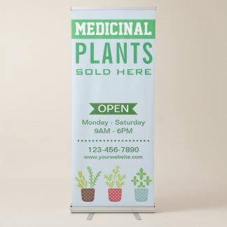Banderole Rétractable Magasin de plantes médicinales