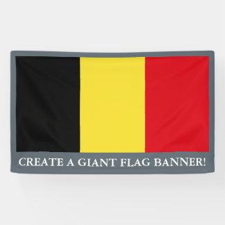 Banderoles Drapeau de la Belgique