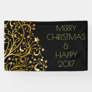 Banderoles L'arbre 2017 heureux de Joyeux Noël tient le