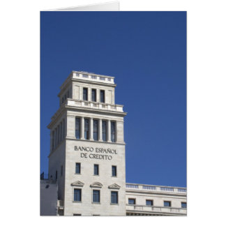 Banesto, Plaça Catalunya, Barcelone Carte