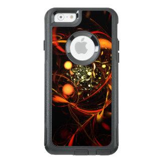 Banlieusard d'art abstrait de battement de coeur coque OtterBox iPhone 6/6s