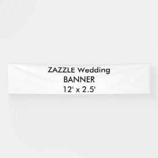 Banner 12 ' x 2.5 ' van de Douane van het huwelijk