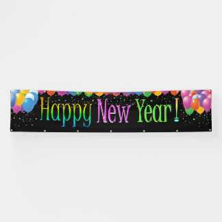Banner 3 van het Nieuwjaar van LG Gelukkige