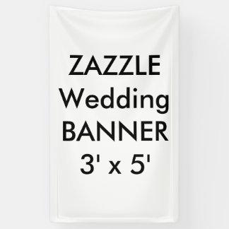 Banner 3 ' x 5 ' van het Huwelijk van de douane
