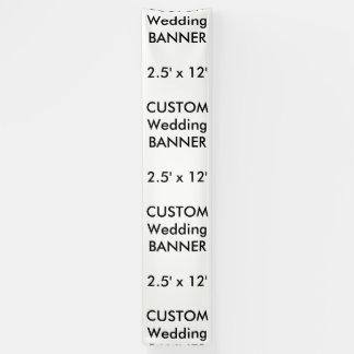 Banner van de Douane van het huwelijk 2.5 ' x12
