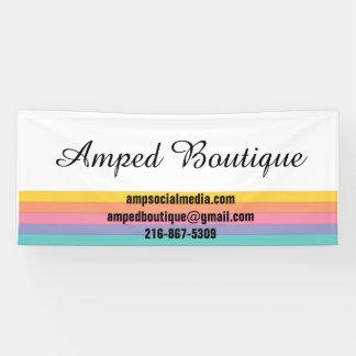 Banner voor de Detailhandelaars van de Mode