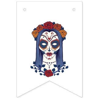 Bannière À Fanions Jour de femme des morts