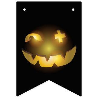 Bannière À Fanions Lanterne bizarre d'o de Jack