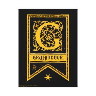 Bannière de monogramme de Harry Potter | Toile