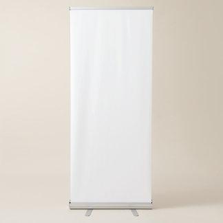 Bannière escamotable verticale