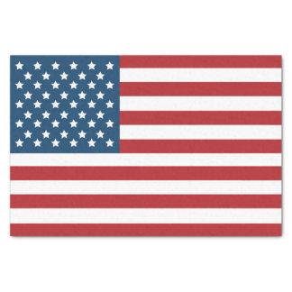 Bannière étoilée de drapeau américain des papier mousseline