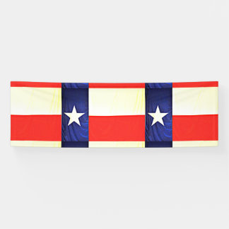 Bannière faite sur commande de drapeau du Texas