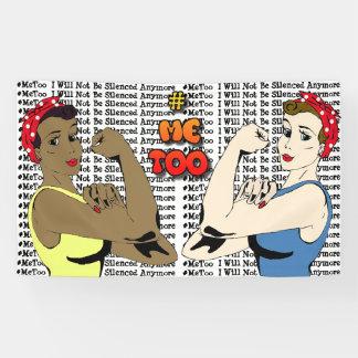 Bannière imitation de campagne de #MeToo
