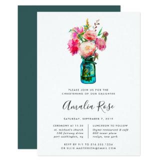 Baptême de bouquet de pivoine ou invitation de
