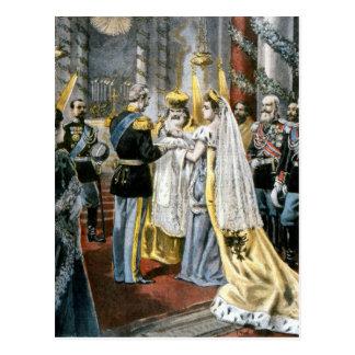 Baptême de Grande -Duchesse Tatiana, fille de Carte Postale