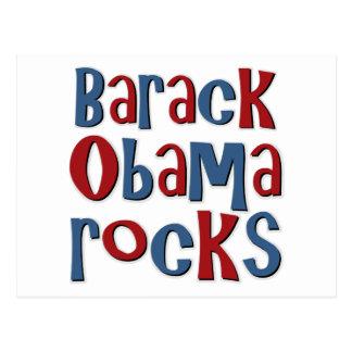 Barack Obama bascule le tee - shirt et les cadeaux Carte Postale