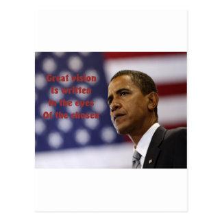 Barack Obama choisi Carte Postale
