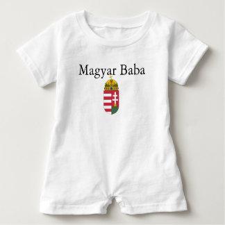 Barboteuse Baba magyar w/Coat des bras