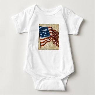 Barboteuse de drapeau américain