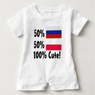 Barboteuse Polonais 100% du Russe 50% de 50% mignon