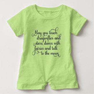 Barboteuse Pouvez vous danser avec la bénédiction irlandaise