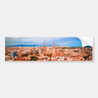 Barcelone Autocollant De Voiture