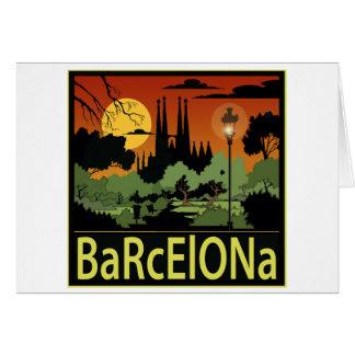 Barcelone Carte