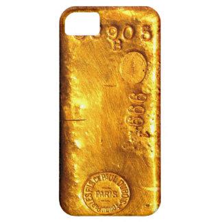 Barre d'or étuis iPhone 5