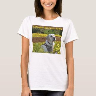 Barrière de T-shirt de maman de labrador retriever