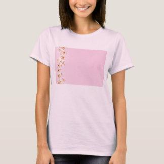Barrière - T-shirt rose de fractale