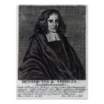 Baruch de Spinoza Poster
