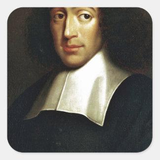 Baruch Spinoza Sticker Carré