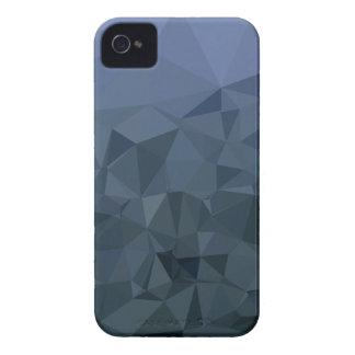 Bas arrière - plan de polygone d'ardoise d'abrégé coques Case-Mate iPhone 4