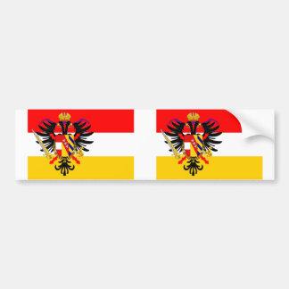 Bas pays autrichiens, drapeau de la Belgique Autocollant Pour Voiture